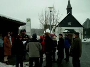 Winterwanderung 2005 Chor 2