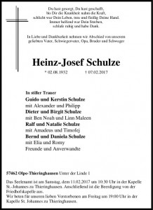 Heinz-Josef Schulze
